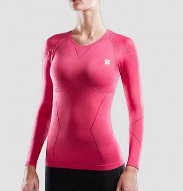 تی شرت استین بلند ورزشی زنانه