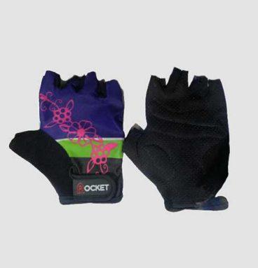 دستکش بدنسازی طرحدار دخترانه